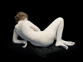 bodies: audrey with toes and wrist bent by nadav kander
