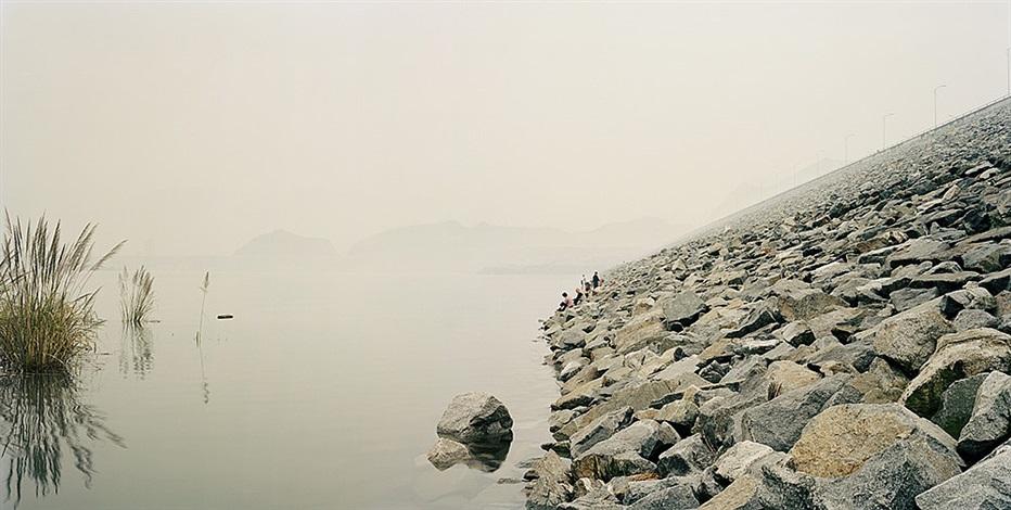 yangtze, the long river: three gorges dam vi, yichang, hubei province by nadav kander