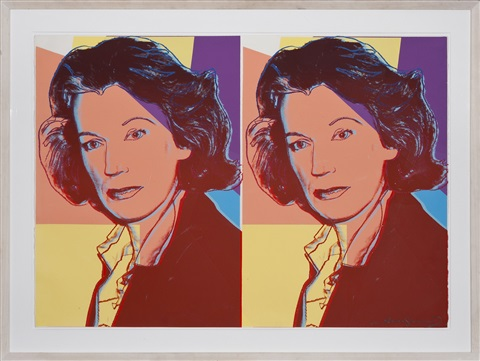 mildred scheel by andy warhol