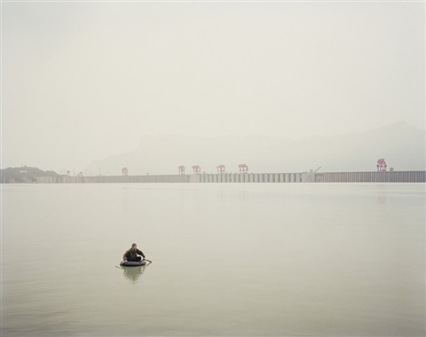 yangtze, the long river: three gorges dam ii, yichang, hubei province by nadav kander