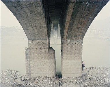 yangtze, the long river: yibin vii, sichuan province by nadav kander