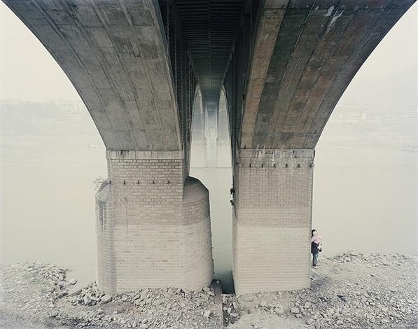 yangtze, the long river: yibin vii, sichuan province by nadav kander