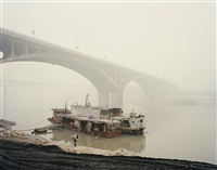 yangtze, the long river: yibin v, sichuan province by nadav kander