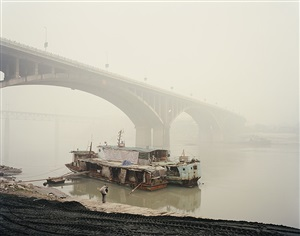 yangtze, the long river: yibin v, sichuan province by nadav kander