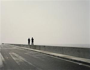 yangtze, the long river: mouth vi, near shanghai by nadav kander