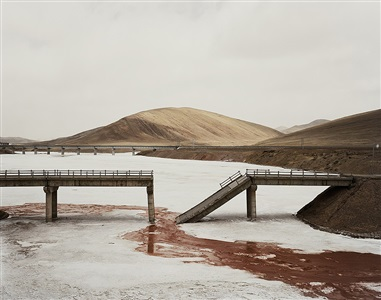 yangtze, the long river: qinghai province ii by nadav kander