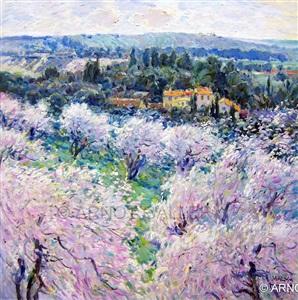 hush of the blossom trees by malva