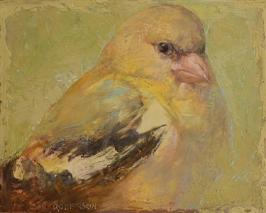 american goldfinch by mary robinson