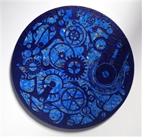 study for ultramarine pocket watch #3 by analia saban