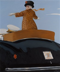 the queen of hearts: a parade for the needy by julio larraz