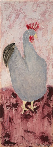 cock by milton avery