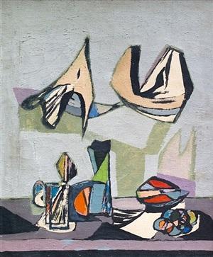 still life abstract by jankel adler