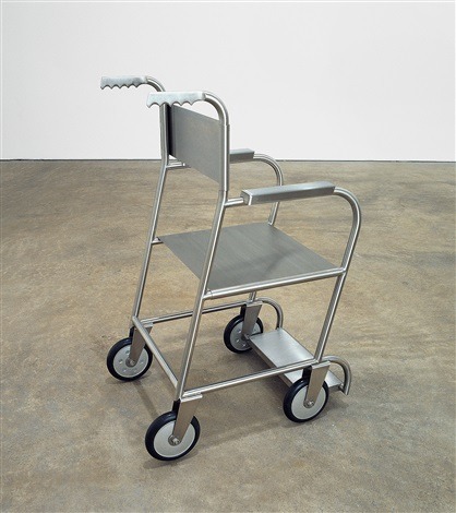 untitled (wheelchair ii) by mona hatoum