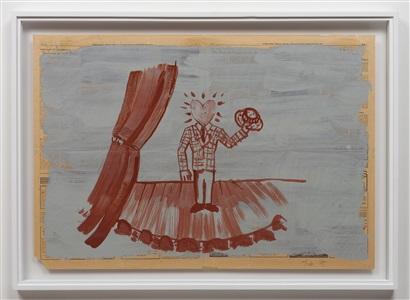 untitled (heartman) by paul thek