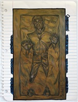 han solo frozen in carbonite by michael scoggins