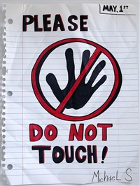 please do not touch by michael scoggins
