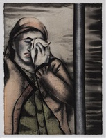 mourner – iii by anju dodiya
