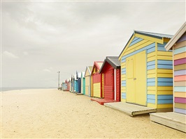 bathing boxes (melbourne australia) by josef hoflehner