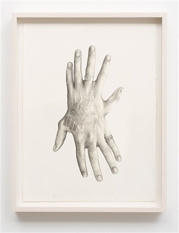 untitled (hands) by aurel schmidt