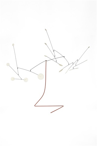 small white discs by alexander calder