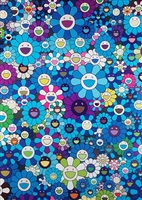 homage to ikb 1957 by takashi murakami