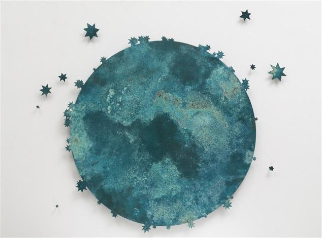 blue moon iii by kiki smith