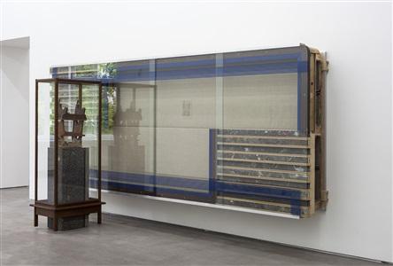 installation view 3 (frankfurter block) by reinhard mucha