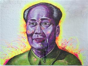 head portrait by liu bolin