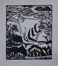 berghang, dube h 434 ii by erich heckel