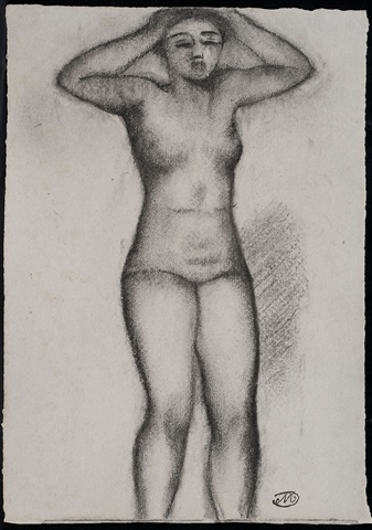 femme debout by aristide maillol