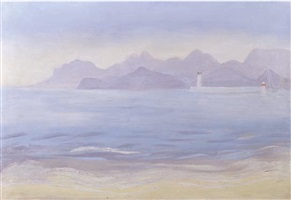 la mer, antibes by winifred nicholson
