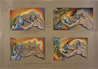 four studies for driving the world to destruction by judy chicago