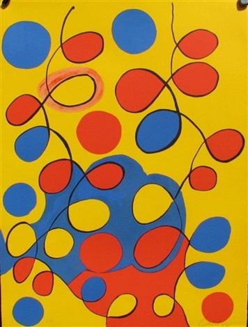 lines and curls by alexander calder