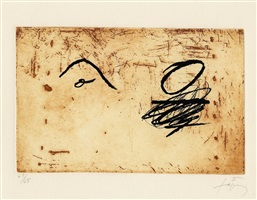 deux o by antoni tàpies
