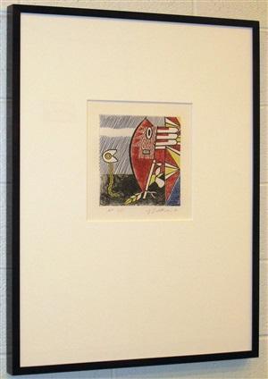 american indian theme i by roy lichtenstein
