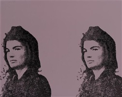jacqueline kennedy ii by andy warhol