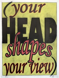 your head shapes your view by allan graham