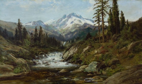 mount shasta by william keith