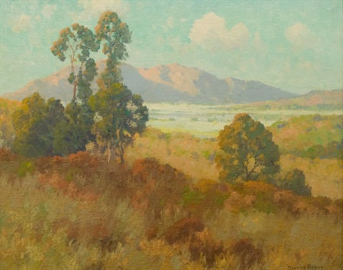 valley in summer by maurice braun