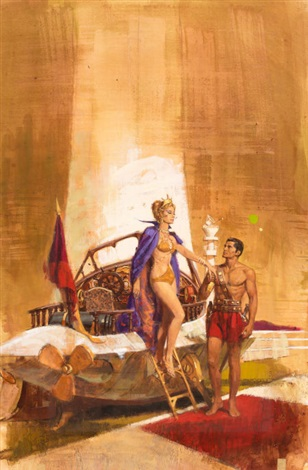 john carter of mars no 4 thuvia maid of mars study by robert kennedy abbett