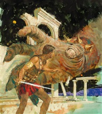 john carter of mars no. 11 by robert kennedy abbett