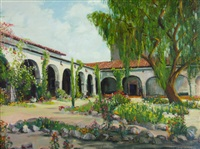 mission san juan capistrano by james arthur merriam