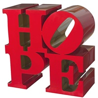 hope red/gold by robert indiana