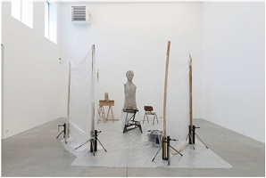 installation view by mark manders
