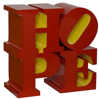 hope red/yellow by robert indiana