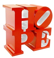 hope red/white by robert indiana
