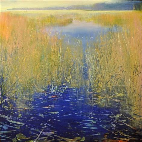 misty day (sold) by david allen dunlop