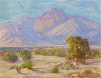 palm springs desert landscape by harry c. smith