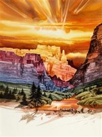 castle canyon by michael atkinson