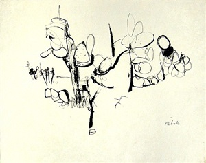 untitled (cactus study) by louis ribak